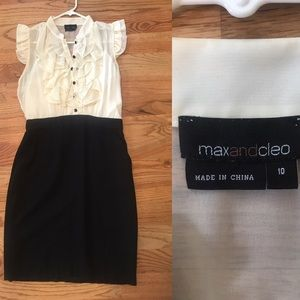 Max and Cleo Knee Length Pencil Dress